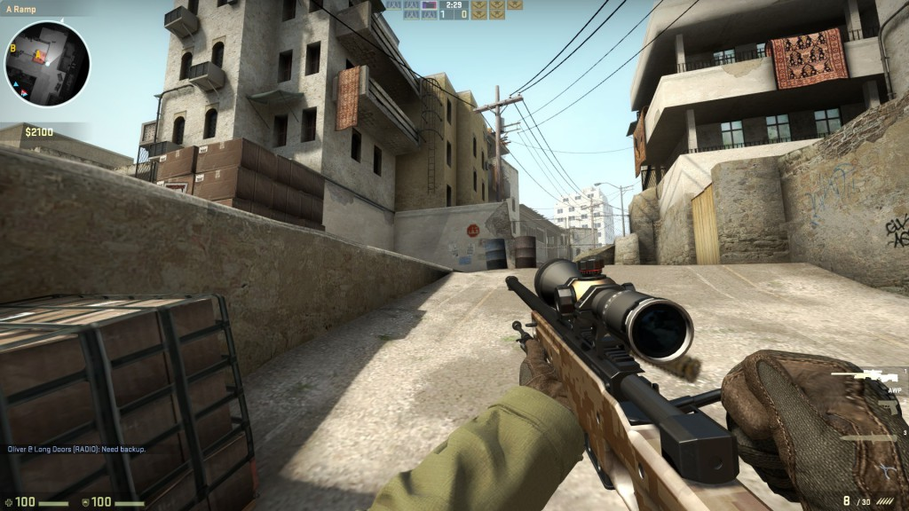 Valve Corporation, Hidden Path Entertainment. <b>Counter-Strike: Global Offensive</b> [PC]. Valve Corporation, 2012, <i>source: https://www.oglasindo.rs/softver/oglas/counter-strike-global-offensive-csgo-9257</i>