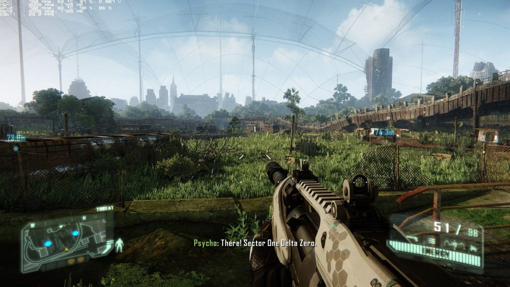 Crytek. <b>Crysis 3</b> [PC]. Electronic Arts, 2013, <i>source: http://www.dsogaming.com/pc-performance-analyses/crysis-3-pc-performance-analysis/</i>
