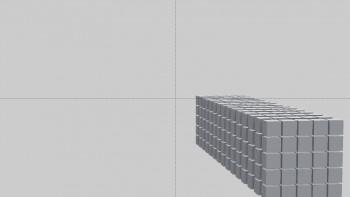 Increasing spaces between divisions