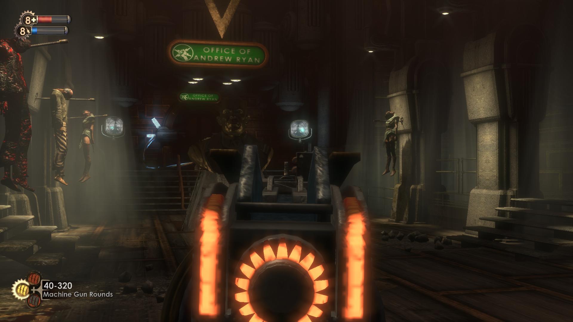 bioshock machine gun