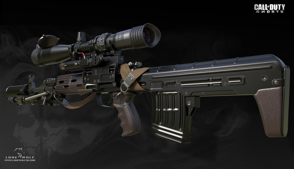 Reno Levi. <b>Call of Duty - Ghosts</b> [portfolio online]. 2013, <i>source: https://www.artstation.com/artwork/2qaA</i>