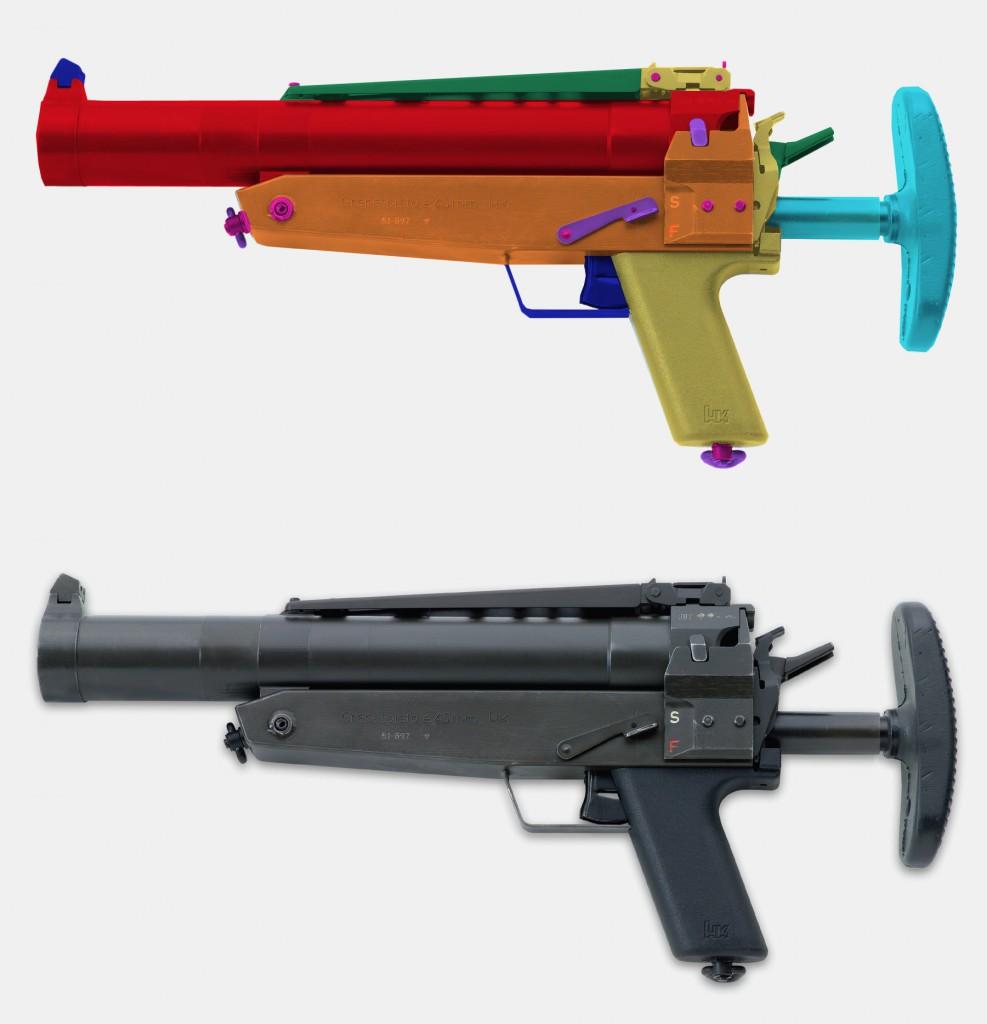 <b>Heckler & Koch HK69A1 - 40x46mm</b> [online]. <i>source: http://www.imfdb.org/wiki/Heckler_%26_Koch_HK69A1_grenade_launcher</i>