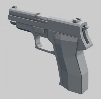 Model whitebox jest zbudowany z prostych brył pokazujących proporcje