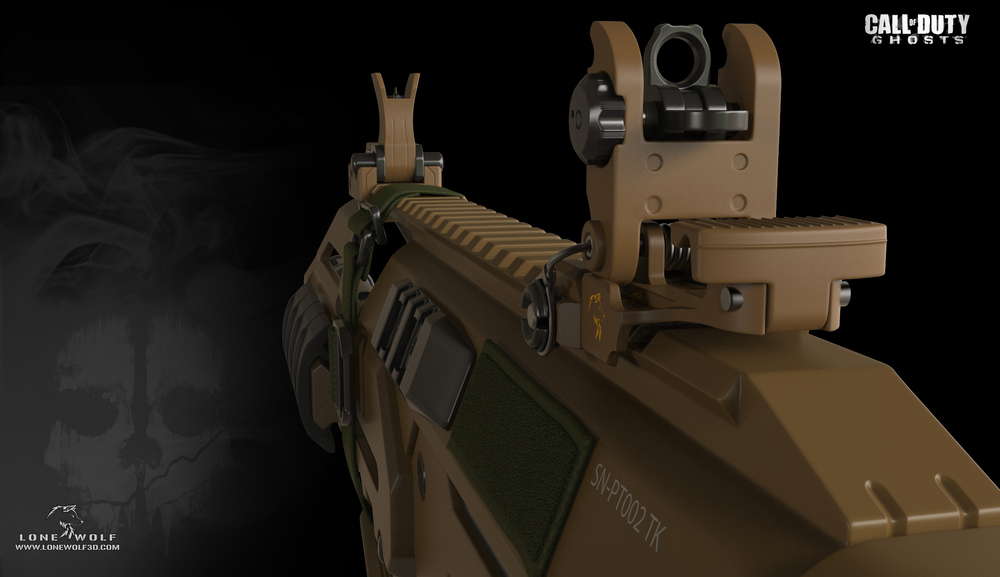 Yaron Levi. <b>MSBS Call of Duty: Ghosts</b> [portfolio online]. 2013, <i>źródło: http://yaron-levi.squarespace.com/call-of-duty-ghosts/</i>