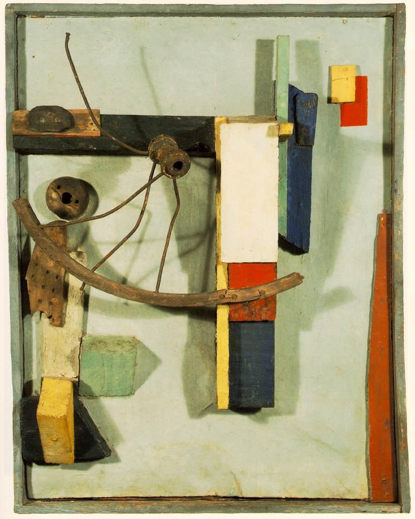Kurt Schwitters. Merz. 1931. [online], źródło: https://www.flickr.com/photos/32357038@N08/3254196713