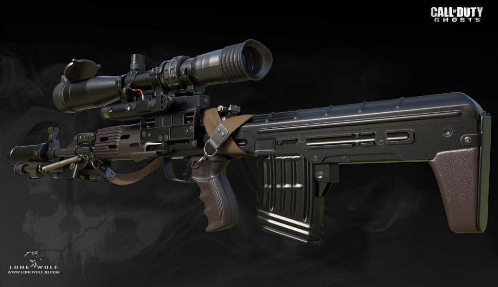Reno Levi. <b>Call of Duty - Ghosts</b> [portfolio online]. 2013, <i>źródło: https://www.artstation.com/artwork/2qaA</i>