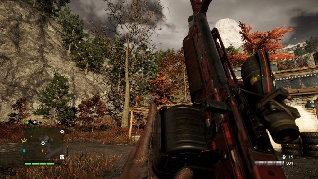 Ubisoft Montreal. <b>Far Cry 4</b> [PS4]. Ubisoft, 2014, <i>źródło: http://www.imfdb.org/wiki/Far_Cry_4#FN_Minimi</i>