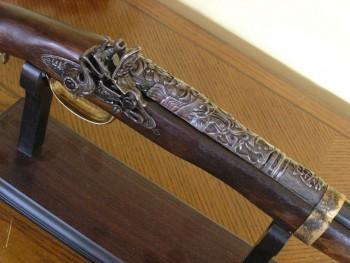 LONG climbing shotgun XVIII century [online]. źródło: http://globalreplicas.com/en/long-climbing-shotgun-xviii-century.html