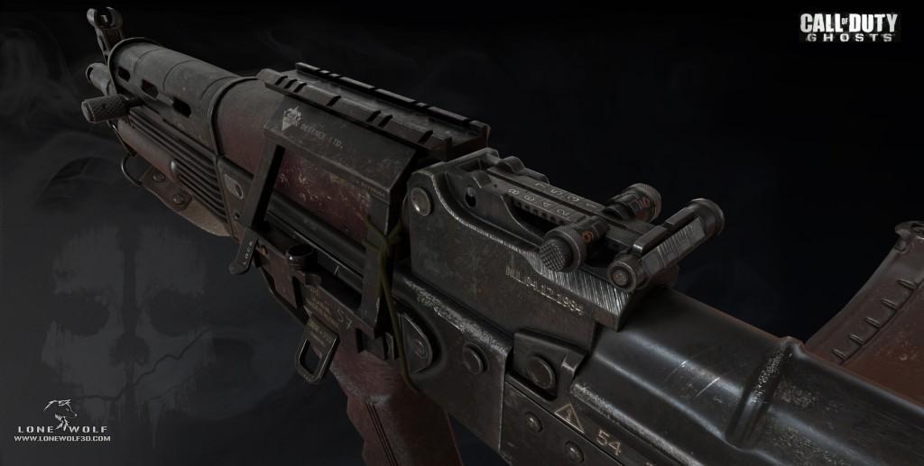 Reno Levi. <b>Call of Duty - Ghosts</b> [portfolio online]. 2013, <i>źródło: https://www.artstation.com/artwork/2q3y</i>