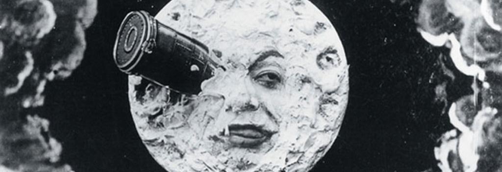 "Still from ""Le voyage dans la Lune"", 1902"