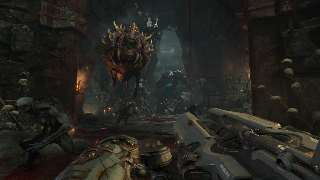 id Software. DOOM [materiały promocyjne]. Bethesda Softworks, 2015, źródło: http://www.dsogaming.com/screenshot-news/doom-new-quakecon-2015-screenshots-released/