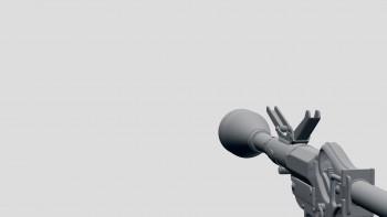 Leuchpistole (grenade launcher) FPP projection