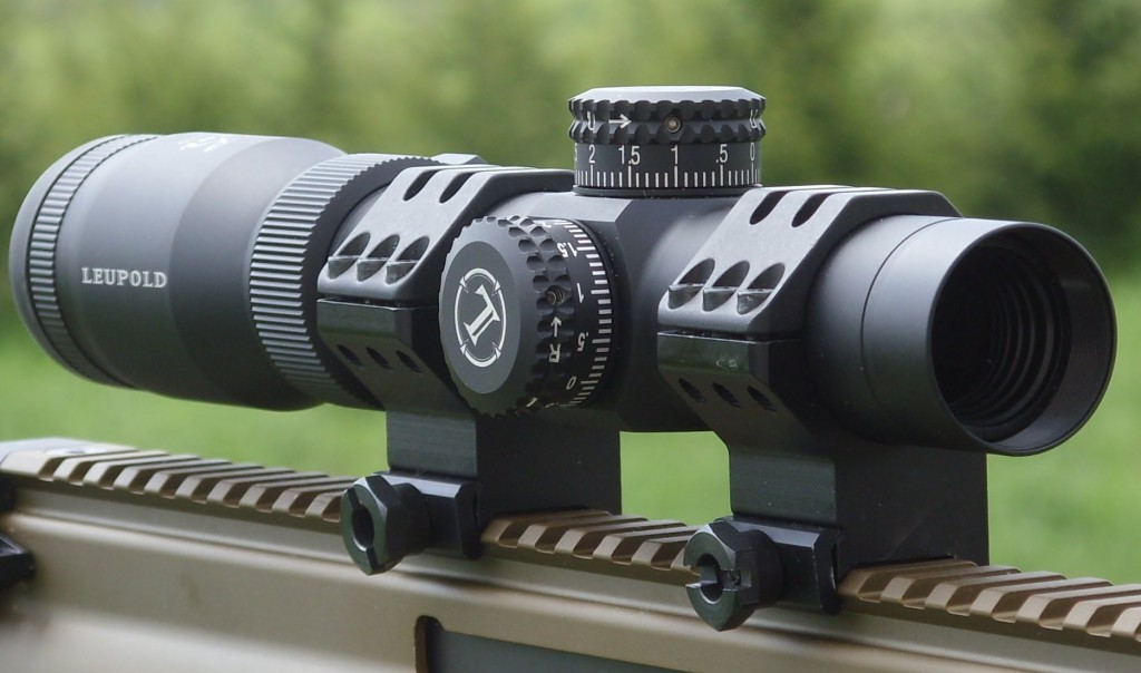 Goldspurs09. Leupold VX-R Patrol 1.25-4x [online]. source: https://youtu.be/IuZbM7Jxmt8?t=1m10s
